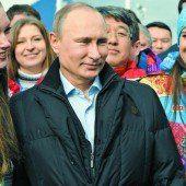 Putins Olympische Spiele können beginnen