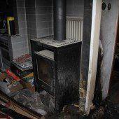 Zimmerbrand in Lustenau