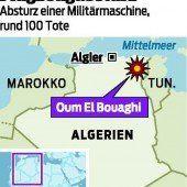 Militärflugzeug stürzte in Algerien ab – 77 Tote