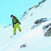 Wenig Schnee – erhöhtes Risiko abseits gesicherter Pisten