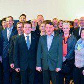 Vorarlberger Landesversicherung ehrt ihre Jubilare