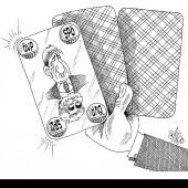 Poker mit gezinkter Karte!