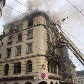 St. Gallen: Brand forderte ein Todesopfer