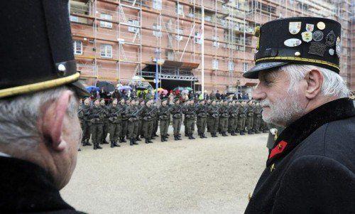 Gedenkfeier zum Jahrestag des österreichischen Bürgerkriegs: Vor 80 Jahren sprachen die Waffen. Foto: apa