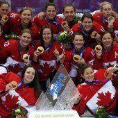 Kanada holt viertes Gold in Folge