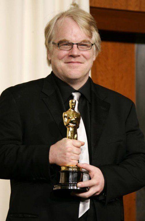 Hoffman gewann 2006 den heiß begehrten Oscar. Foto: EPA