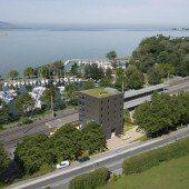 marina:B am Seeufer in Lochau ist klar zum Ankern