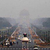 Smog in Neu-Delhi ist schlimmer als in Peking