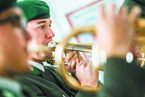"""In Zusammenarbeit mit der Vorarlberger Mittelschule Wolfurt bringt die Militärmusik das Musical """"Ritter Rudis Raubzüge"""" zur Aufführung.  Foto: VN"""