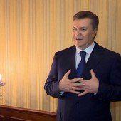 Janukowitsch nach Umsturz abgetaucht
