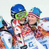 Zwei Medaillen für Ski-Damen