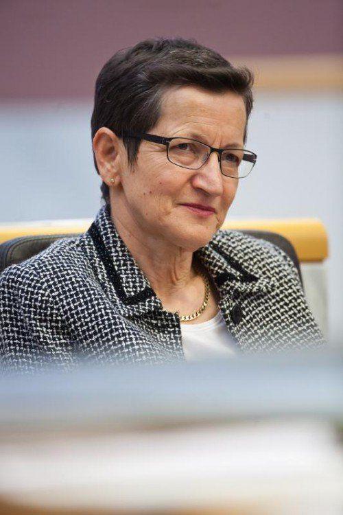 Greti Schmid nahm an der Armutsplattform teil.  FOTO: Steurer