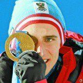 Goldener Start: Mayer neuer Abfahrts-König