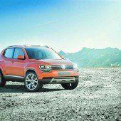 Weiterentwicklung des Baby-Tiguan von VW
