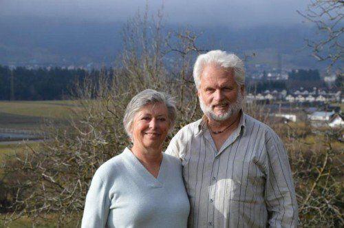 Monika und Alexander Rüdisser engagieren sich seit vielen Jahren bei Hospiz Vorarlberg.