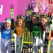 Historischer Staffel-Sieg für die Schwedinnen