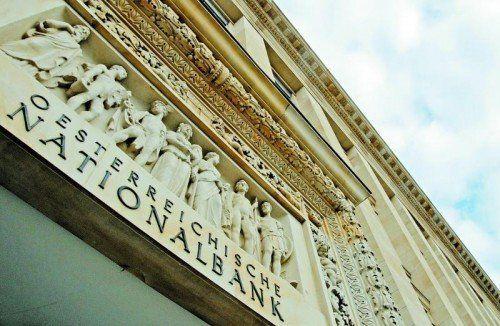 Nationalbank-Zentrale in Wien: Freiheitliche wollen bei der Abschaffung von Sonderpensionsregelungen den Druck erhöhen. Foto: APA