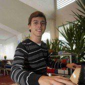 Aaron Pilsan im Rennen um den ZF-Musikpreis