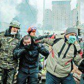 Schüsse, Blut und Panik in Kiew
