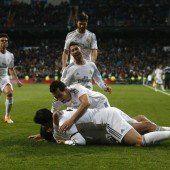 Real steht mit einem Bein im Cup-Finale