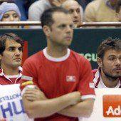Davis Cup: Schweiz überrascht