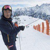 Skigebiet als Tourist sehen