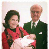 Schweden-Baby heißt Leonore