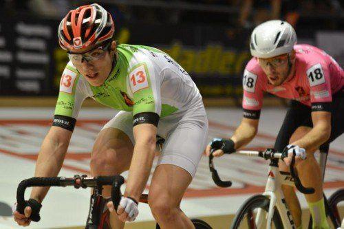 Tobias Wauch war in Grenchen die Nummer eins. Foto: privat