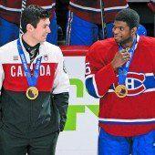 Montreal feierte die Gold-Cracks von Sotschi
