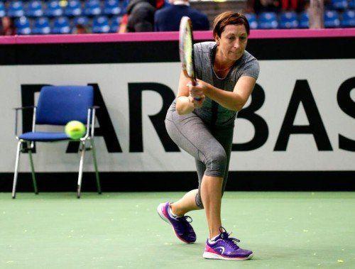 Yvonne Meusburger ist erstmals Leaderin des Fed-Cup-Teams. Foto: gepa