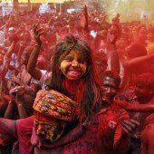 Millionen feierten Holi-Fest in Indien