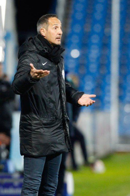 Adi Hütter gibt heute bekannt, wo er nächste Saison arbeitet.  gepa