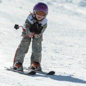 Am Sonnenkopf sind die Snow-Kids los