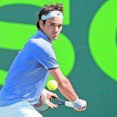 Federer ohne Mühe im Achtelfinale