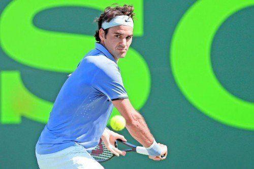 Auf Roger Federer wartet nun in Miami Richard Gasquet. Foto: gepa