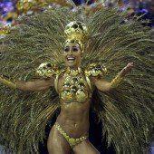 Millionen Menschen feierten in Brasilien