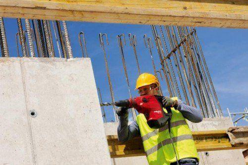 Die Baugeräte von Hilti sind weltweit gefragt. Hauptabsatzmarkt bleibt jedoch Europa. Foto: Hilti