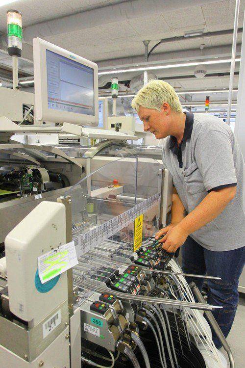 Stabile Entwicklung bei Bachmann electronic. Foto: VN/Hofmeister