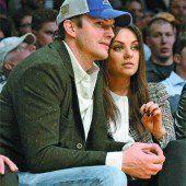 Mila Kunis und Ashton Kutcher im Babyglück