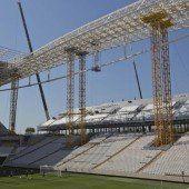 Erneut tödlicher Unfall auf WM-Baustelle