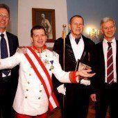 Hohenems: Im Palast gabs Grund zum Feiern
