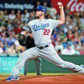 Kershaw führte die Dodgers zum ersten Sieg