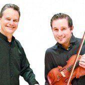 Joachim Tschann & Sergio Posada-Gomez konzertieren morgen ab 19.30 Uhr in der Villa Falkenhorst in Thüringen.