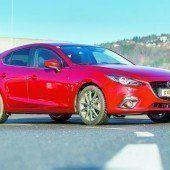 Mazda mit Design auf der Überholspur