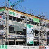 Wohn- und Geschäftshaus nimmt Form an