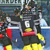 Brutal gutes Eishockey gezeigt