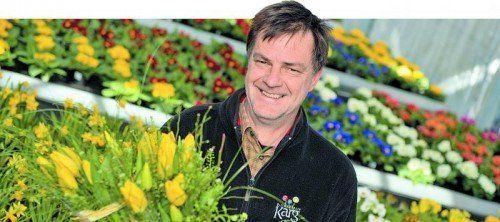 Den Umgang mit Pflanzen bezeichnet Markus Karg als Berufung. Fotos: M. Matt