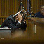 Oscar Pistorius bricht erneut zusammen