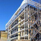 Baufortschritt verläuft zügiger als geplant
