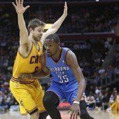 50. Saisonsieg für Oklahoma in der NBA